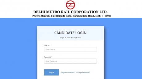 DMRC Recruitment Exam 2020 Answer Key Released, Get Direct Link Here