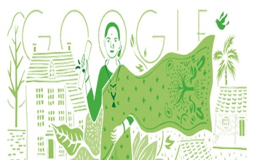 Google Doodle Marks Indias First Lady Doctors 153Rd Birthday - News Nation-5871